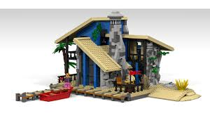 lego ideas beach house
