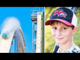 10 year boy died on a water slide