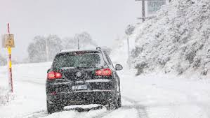volkswagen snow cold snap brings more april snow the border mail
