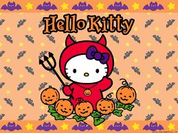 hello kitty halloween wallpaper wallpapersafari