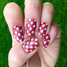 boston sox baseball nail ideas designs spirit wear