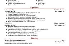 Billing Specialist Resume Sample by Sample Medical Billing Specialist Resume Medical Insurance