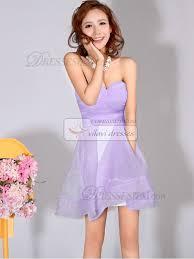 light purple bridesmaid dresses short a line sweetheart strapless short lilac bridesmaid dresses