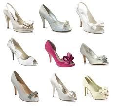 wedding shoes jakarta bow bridal shoes polka dot