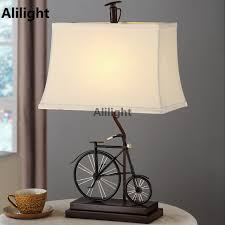 Creative Table Lamps Modern Table Lamps Vintage Bicycle Bedside Table Light For Bedroom