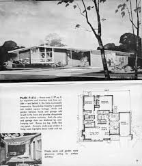 1963 hayden homes plan p 416 mid century mid century modern and