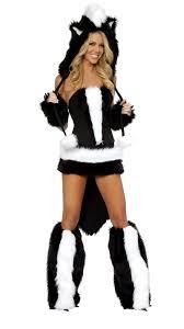 womens flower skunk halloween costume