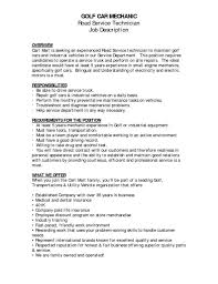 Utility Worker Resume Auto Technician Job Description Sample Resume For Mechanic Job