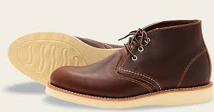 Most Comfortable Work Shoes For Standing On Concrete Men U0027s 3141 Classic Chukka Boot Red Wing Heritage