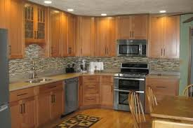 modern country kitchen with oak cabinets oak cabinets ideas on foter