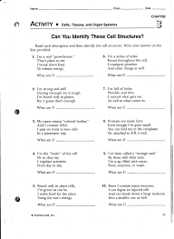 cell parts and functions worksheet worksheets
