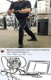 Leg Day Meme - how he jumped the leg day with those legs by gb badassa meme center