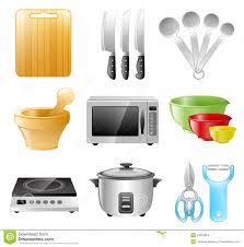 restaurant kitchen appliances kitchen utensils cooking restaurant stock vector illustration of