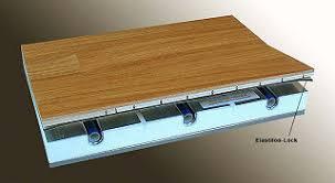 wood flooring and heating elastilon