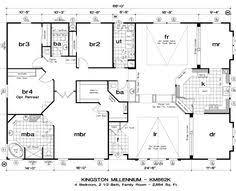 4 Bedroom Modular Home Floor Plans 220 Metrekare Ev Modelleri Google U0027da Ara Ev Planı Pinterest
