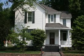 Farmhouse Style House by Wilson Avenue College Hill Historic District