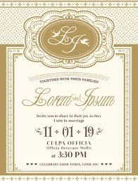 marriage invitation card wedding invitation card format free vector 218 009 free
