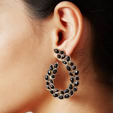 black earrings black earrings buy black earrings online