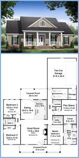 House Plans Farmhouse Country Country Farmhouse Traditional House Plan 59155 When I Get A