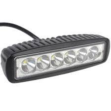 Led Light Bar For Cars by 1550lm Mini 6 Inch 18w 12v Cree Led Work Light Bar Car Worklight