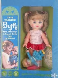 mrs beasley s tv s talking buffy mrs beasley doll by mattel 1967 from family
