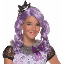 ever after high kitty cheshire wig halloween costume accessory