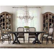 corsica rectangle pedestal dining table hooker furniture corsica rectangle pedestal dining table with 2 20