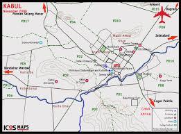kabul map maps icos