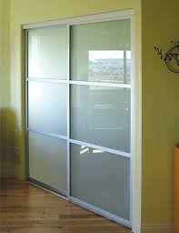 Frosted Glass Closet Sliding Doors Modern Glass Closet Doors For Your Home Sliding Closet Doors