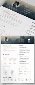 modern resume templates free download psd effects free resume template and icons psd pinteres