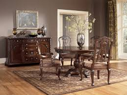 ashley dining room sets buy north shore round dining room set by millennium from www