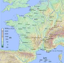 Map Southern France by List Of Cities In France Simple English Wikipedia The Free
