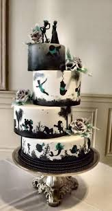 wedding cakes wedding theme disney silhouette wedding cake 2567430 weddbook