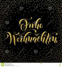 happy thanksgiving glitter frohe weihnachten german christmas gold greeting stock