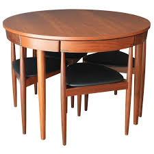 Round Teak Table And Chairs 159 Best Home Furnish Danish Et Al Images On Pinterest