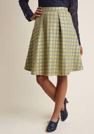 knee length skirt knee length skirts retro vintage styles modcloth