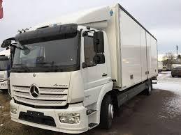 kw box truck used mercedes benz atego 1527 l lågskåp 3 40m box trucks year