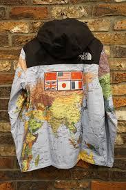 World Map Jacket by Fools Judge Rakuten Global Market Supreme Supreme X Tnf 14ss