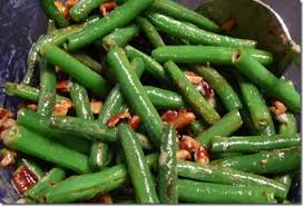thanksgiving side dishes caramelized corn and green beans with