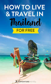 how to travel for free images How to live and travel in thailand for free jpg