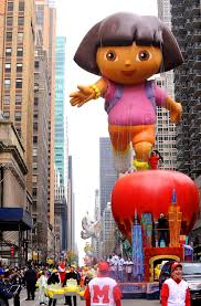 crowds gather for new york s annual thanksgiving day parade