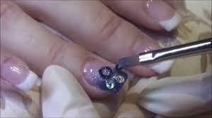 how to gel nail tutorial with nail tips youtube