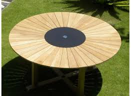 round wood patio table popular round teak patio table with seater contemporary round teak