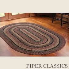 country style braided jute rugs blackberry