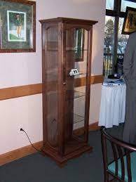 Curio Cabinets With Glass Doors Curio Cabinet Mission Style Curio Cabinet Plans Cabinets With