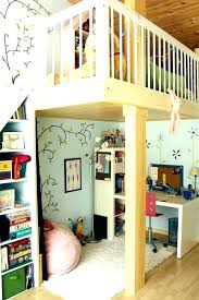 girls loft bed with a desk and vanity girls loft bed with desk image of loft bed desk plans girls loft bed