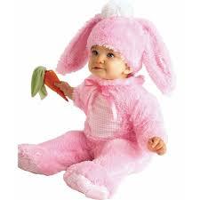 Anne Geddes Halloween Costumes Pink Bunny Infant Jumpsuit Halloween Costume Walmart