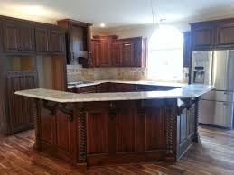kitchen island cool brown wooden kitchen island with four dark