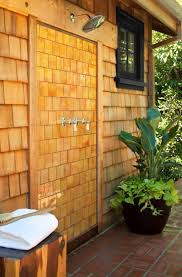 Teak Outdoor Shower Enclosure by 22 Best Outdoor Showers Images On Pinterest Outdoor Bathrooms