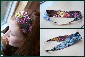 elastic headbands reversible fabric headbands la casa de crafts